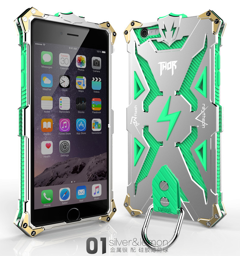 iphone6 アルミフルカバー