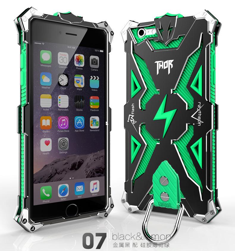 アイフォン6 金属 タフケース