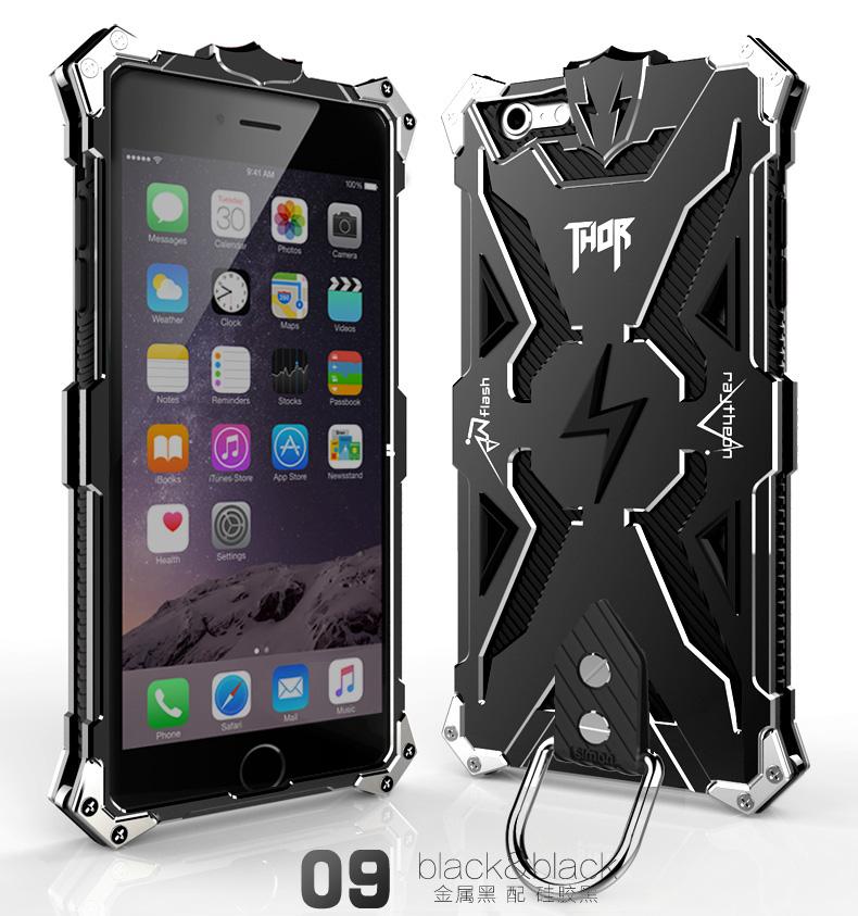 アイフォン6 メタル タフケース